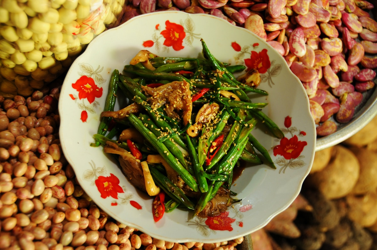 Fried With Oyster Mushroom