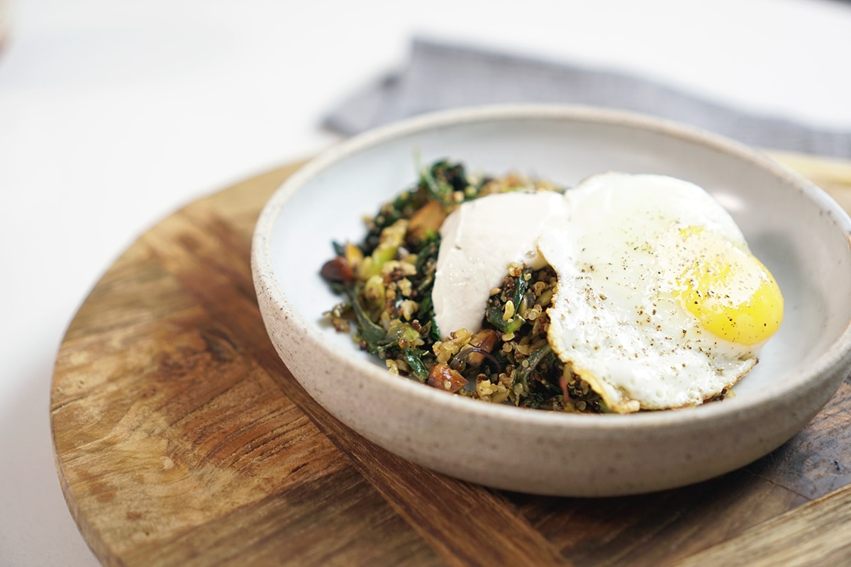 Breakfast recipes sbs food breakfast greens fried eggs and tahini httpssbsfoodrecipes breakfast greens fried eggs and tahini forumfinder Choice Image