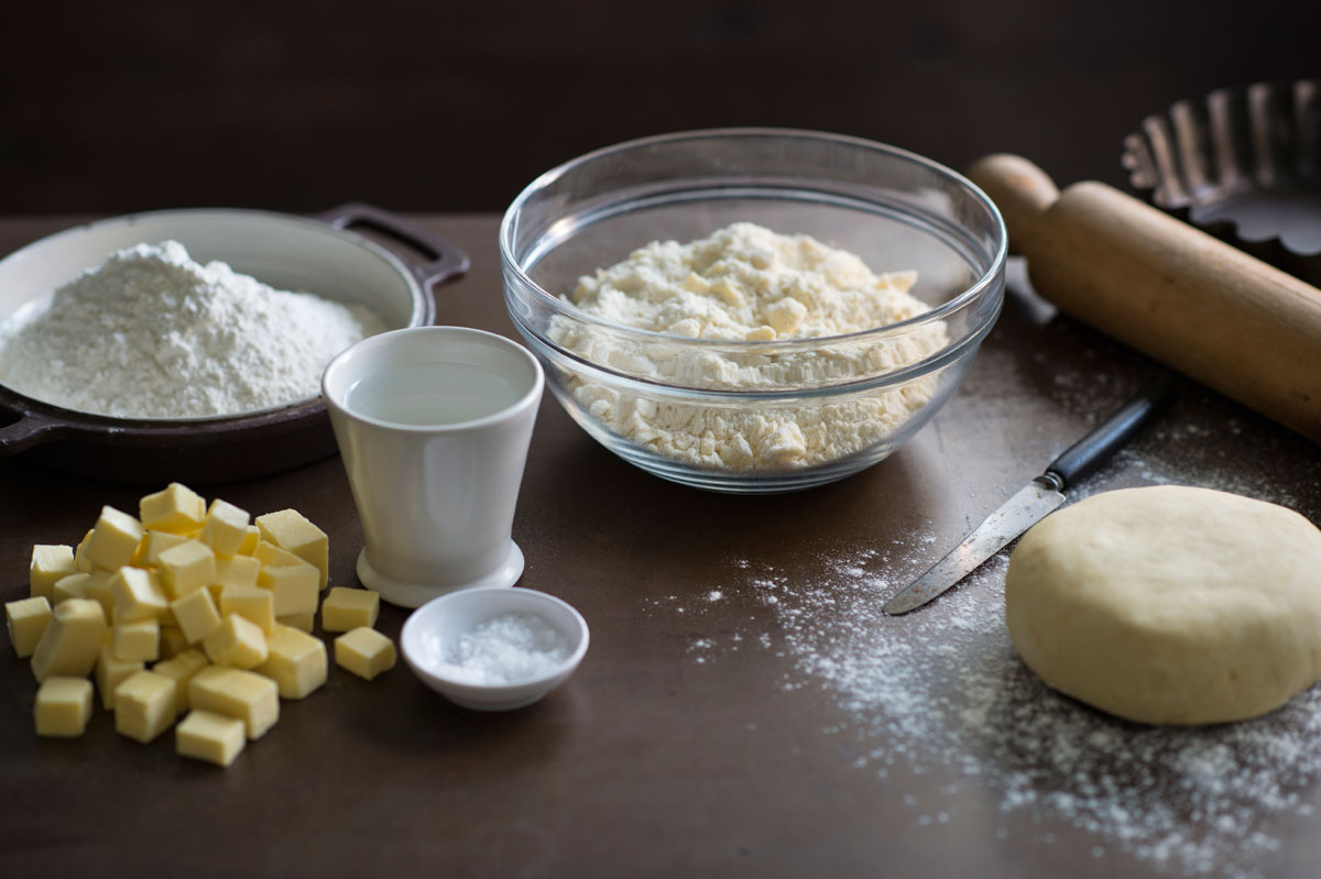 Make basic sweet shortcrust pastry for Shortcrust pastry ingredients