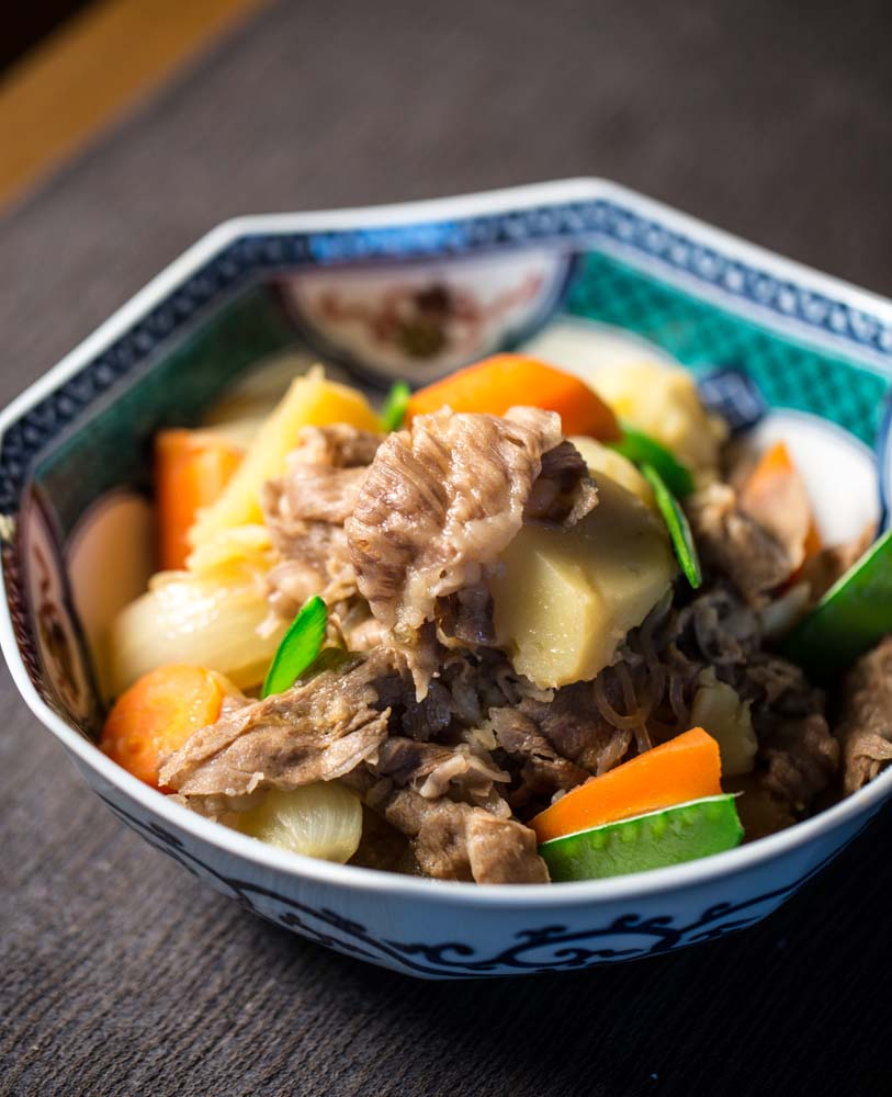 Japanese meat and potatoes (nikujaga) recipe : SBS Food