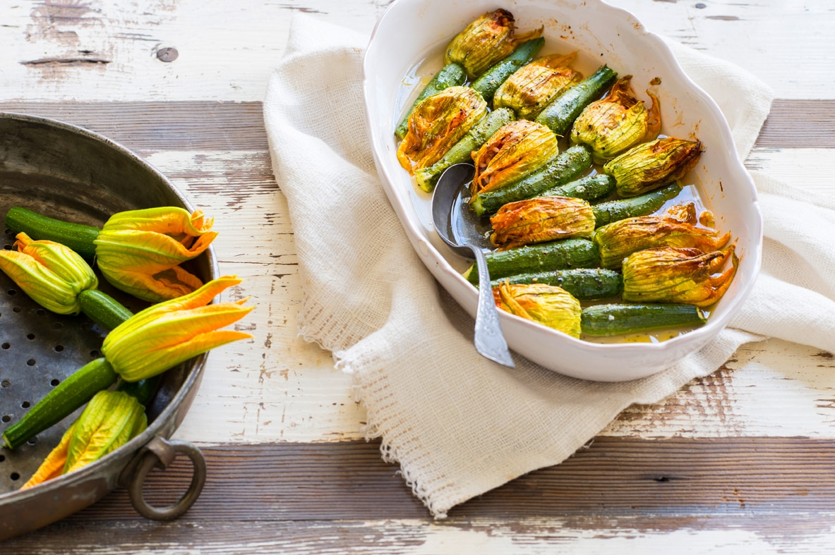 Zucchini flowers stuffed with herbs and rice recipe sbs food zucchini flowers stuffed with herbs and rice httpssbsfood recipeszucchini flowers stuffed herbs and rice forumfinder Choice Image