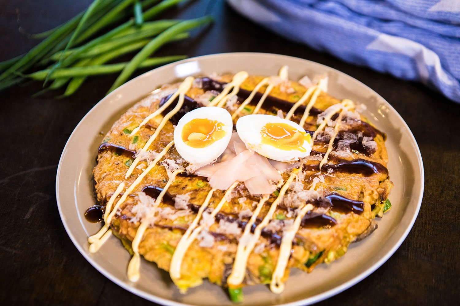 Okonomiyaki Recipe Japanese Recipes Sbs Food