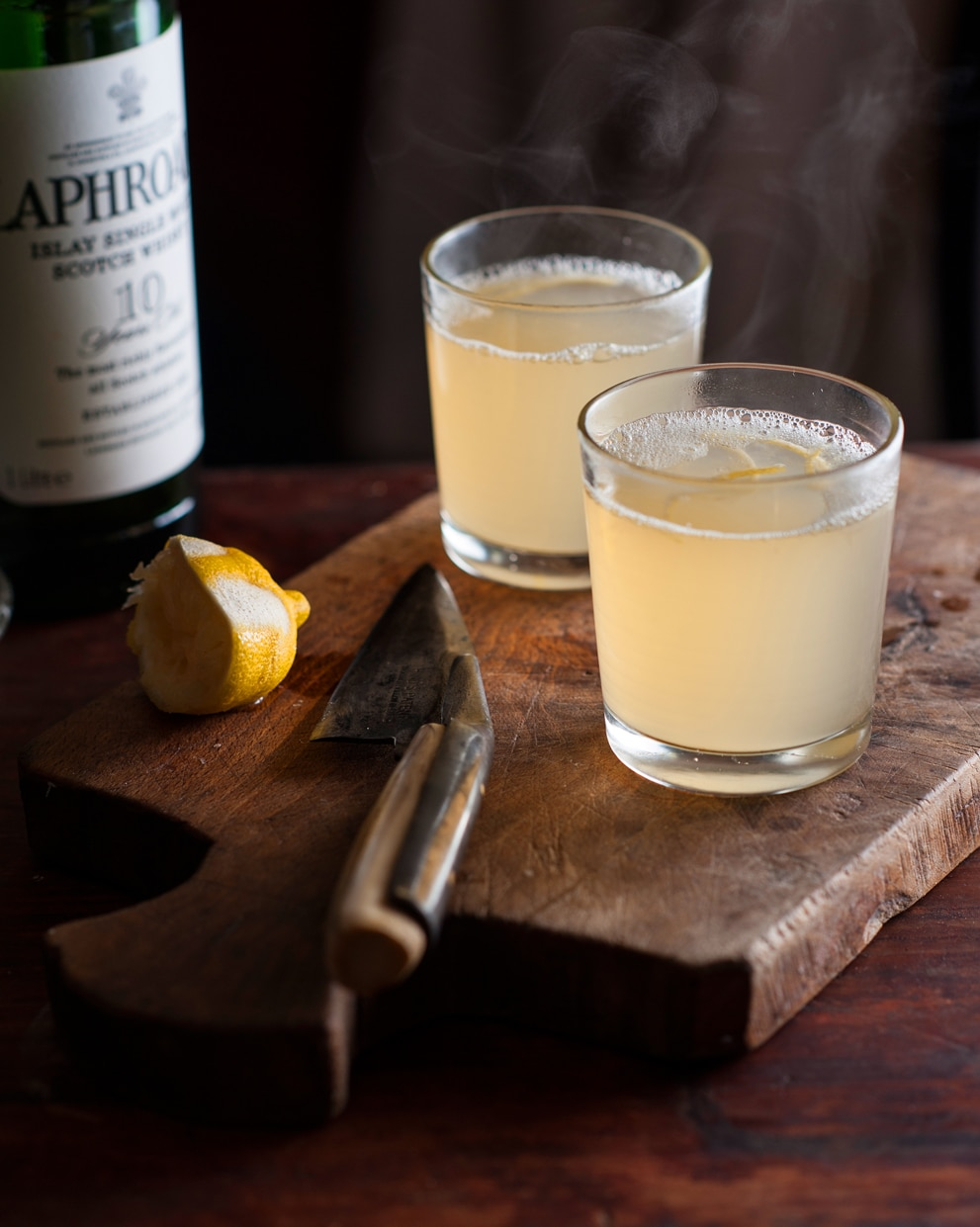 Ginger ale hot toddy recipe : SBS Food