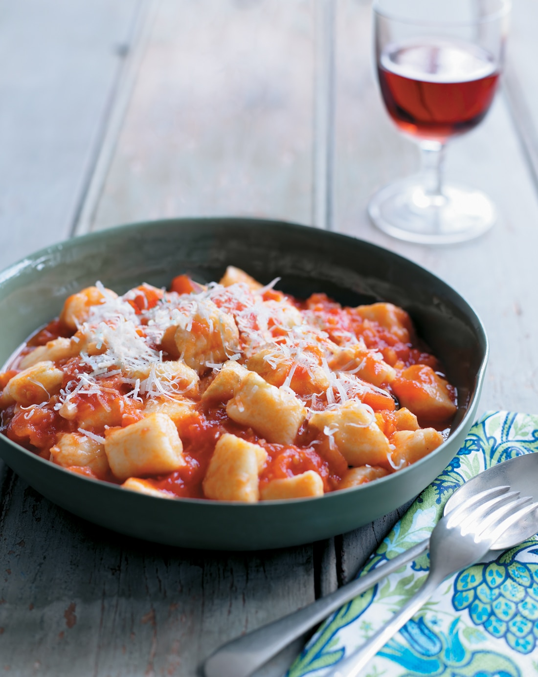 Gnocchi with fresh tomato and basil sauce | Italian recipes | SBS Food
