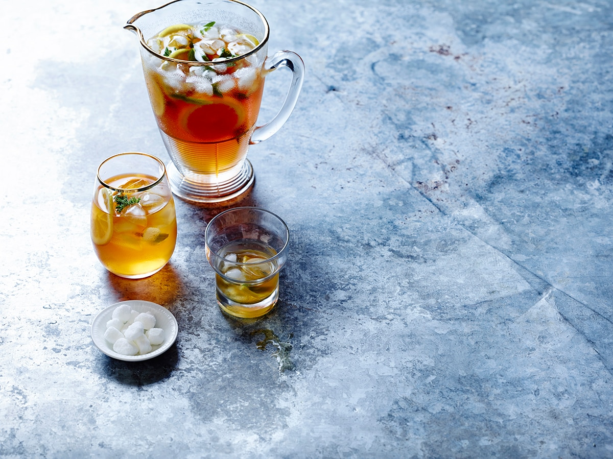 Sweet Iced Tea Iced Tea Recipe Sbs Food