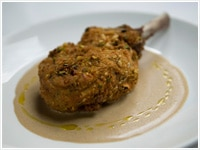 Crumbed Veal Cutlet With Porcini Sauce Recipe Sbs Food