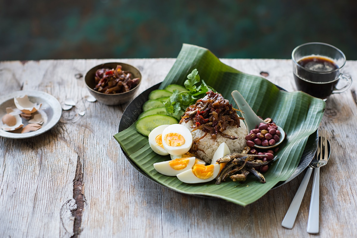 Nasi lemak rice recipes sbs food nasi lemak httpssbsfoodrecipesnasi lemak forumfinder Image collections