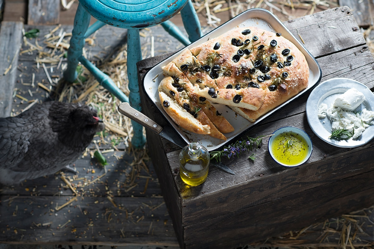Food Network Rosemary Focaccia