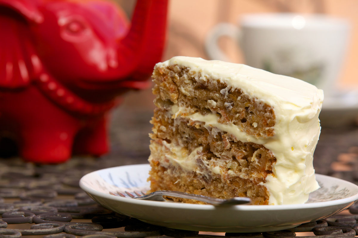 Southern style carrot cake carrot cake recipe sbs food share image american forumfinder Gallery
