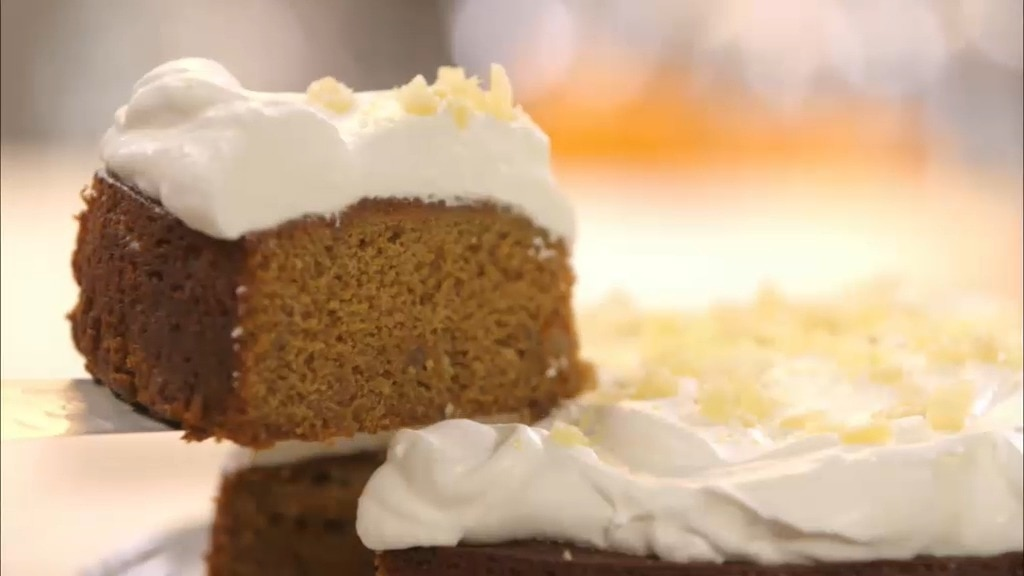Lemon Ginger Spice Cake