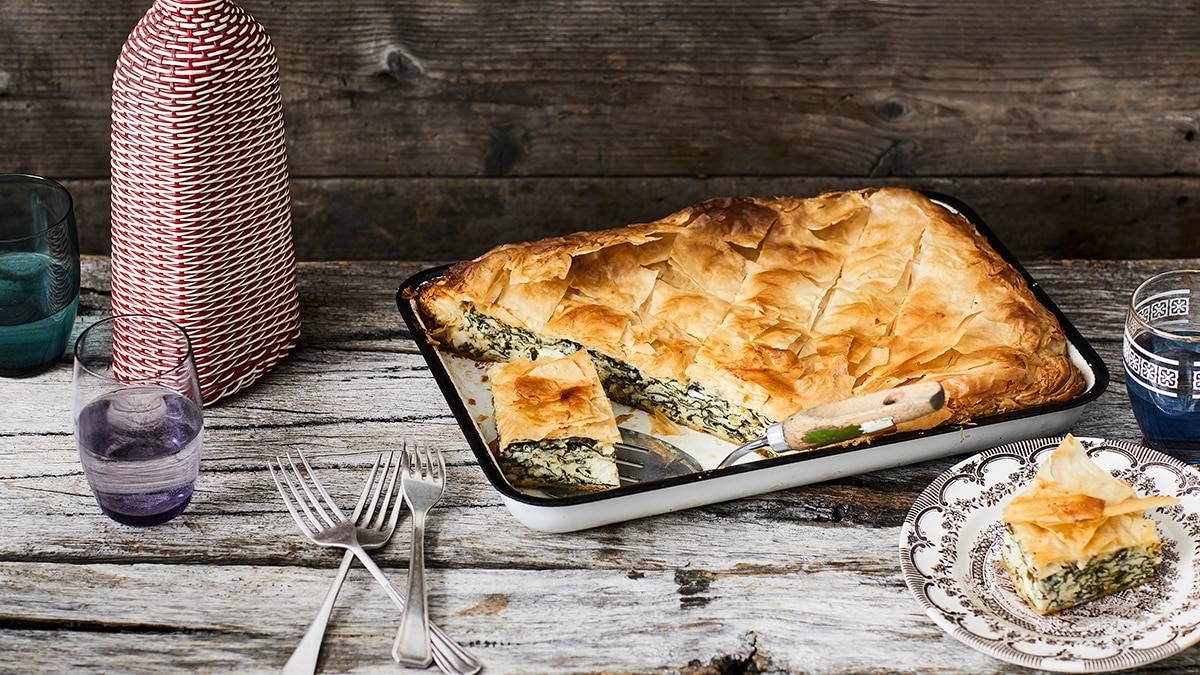 Spanakopita recipe sbs food forumfinder Image collections