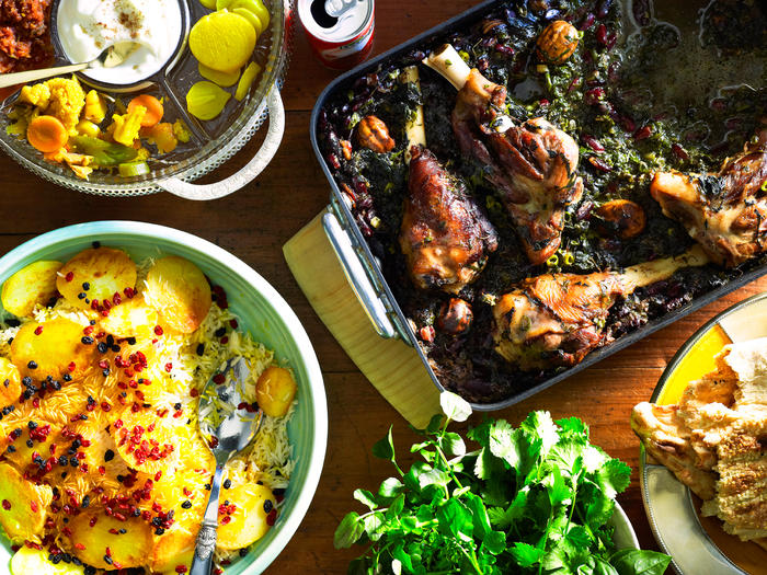 This Iranian lamb and herb stew gets its one-of-a-kind flavour profile from dried limes.