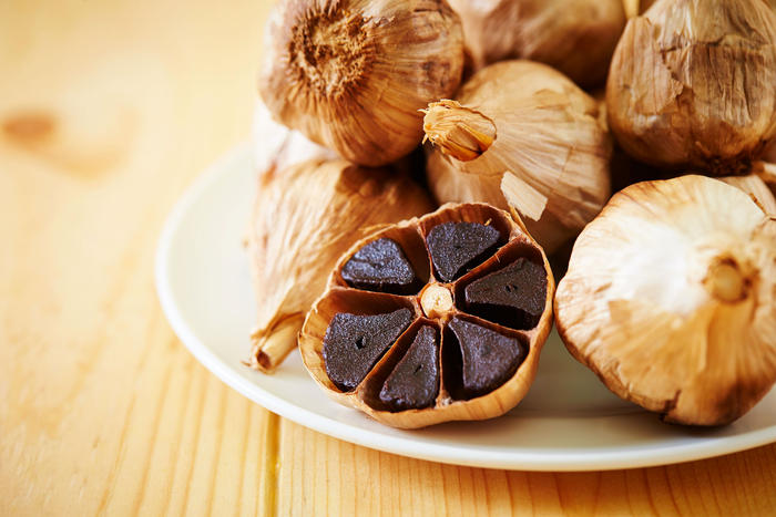 Black garlic is sweeter than its white counterpart – and a versatile ingredient.
