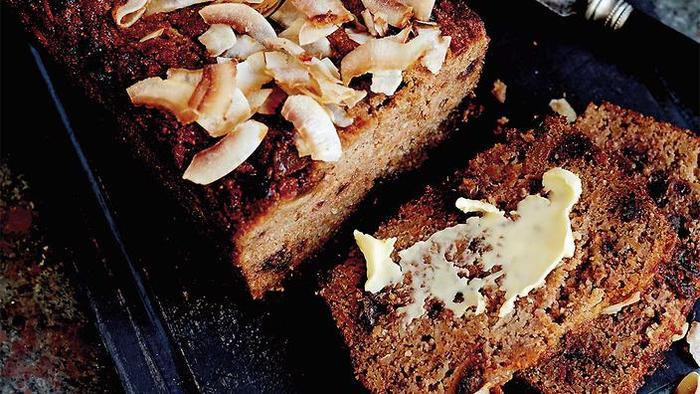Carrot, parsnip and cardamom loaf