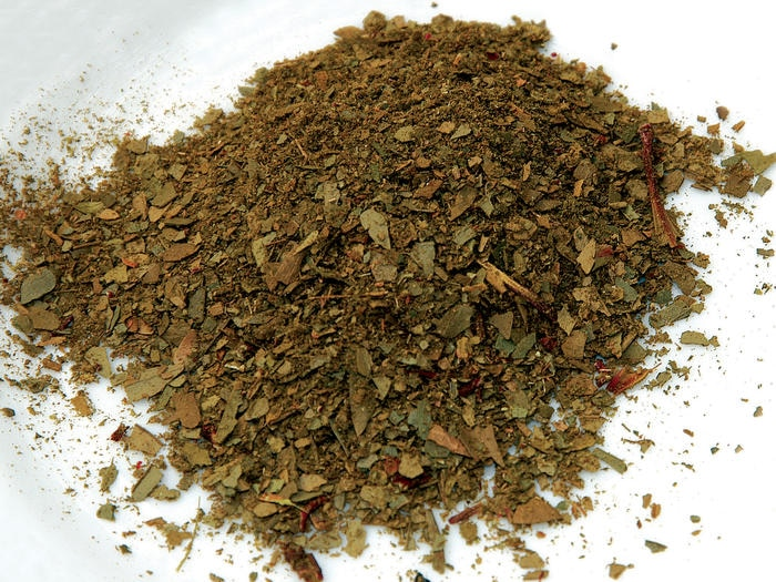 Dried and crushed mountain pepper