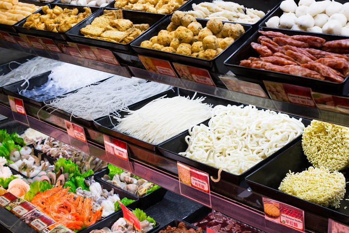 There are many types of noodles – and other ingredients – to choose from.