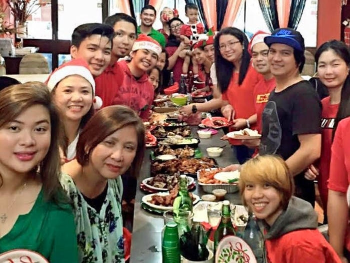 Sizzling Fillo bringing friends and family together