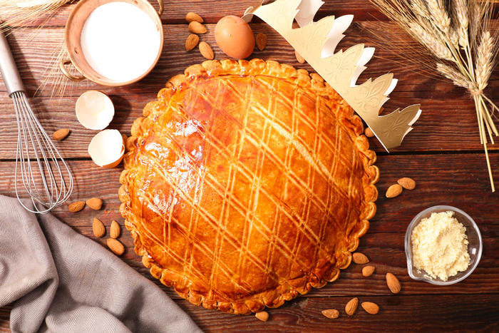 Eating galette des rois is a fun French holiday tradition.