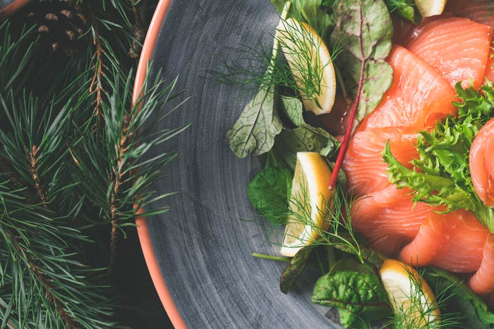 Salmon is packed with omega-3 oils that have been proven to be good for your brain and cardiovascular system.