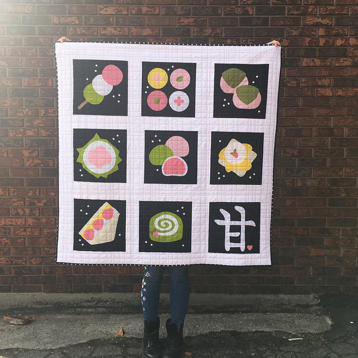 Tania Denyer's Japanese sweets quilt