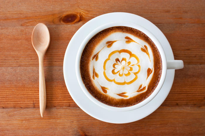 There are plenty of brilliant latte art examples online.
