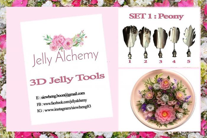 Jelly Alchemy peony carving tools