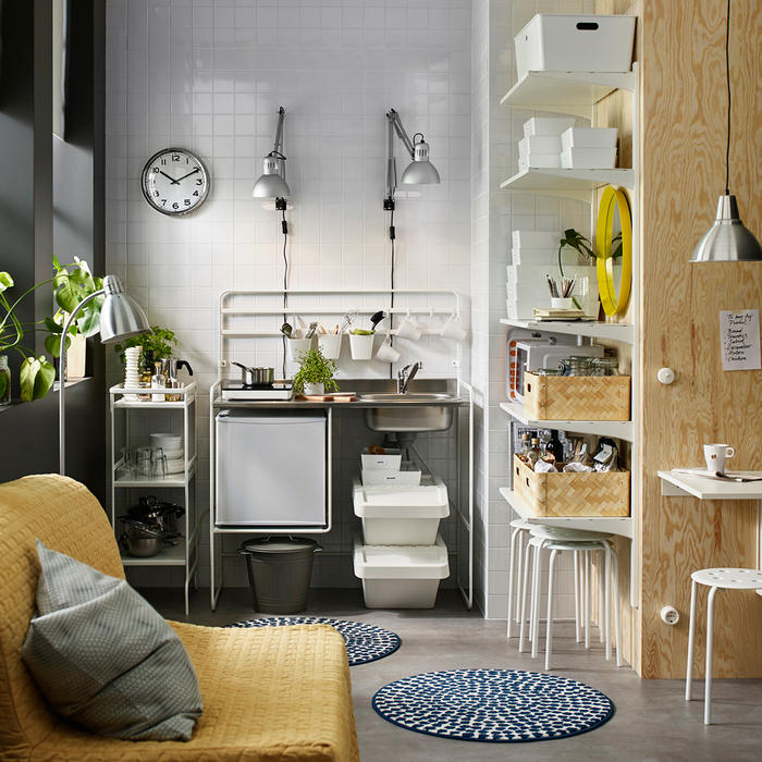 Ikea Mini Kitchen: Honey, I've Shrunk The Cost Of The Kitchen . . . To Less