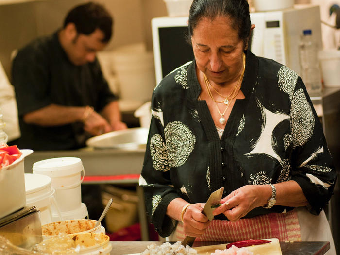 Anant Singh has been running much-loved Jasmin Indian restaurant for four decades.