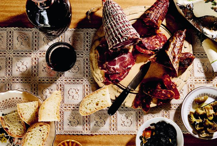 """""""...if didn't produce your own salami or sardines, you didn't eat salami or sardines."""""""