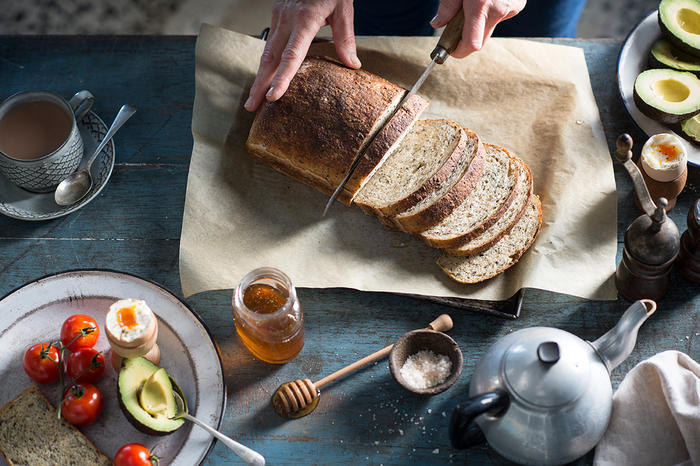 Wholemeal sourdough, dense with wholegrains, can be a nutritional powerhouse.