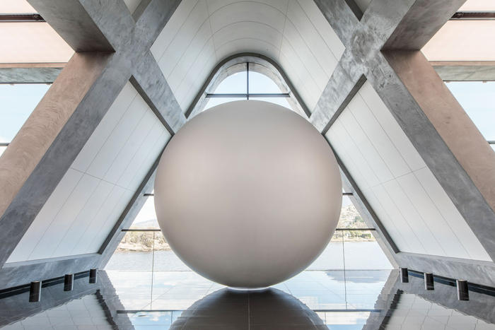 """James Turrell's """"Unseen, Seen"""" installation is the centrepiece of Faro."""