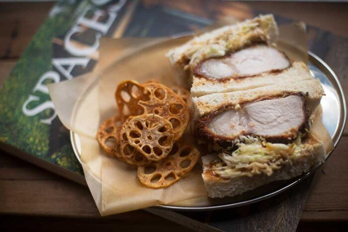 Chef Naoya Shimada was inspired by the sandwiches he found in Japan's konbini.