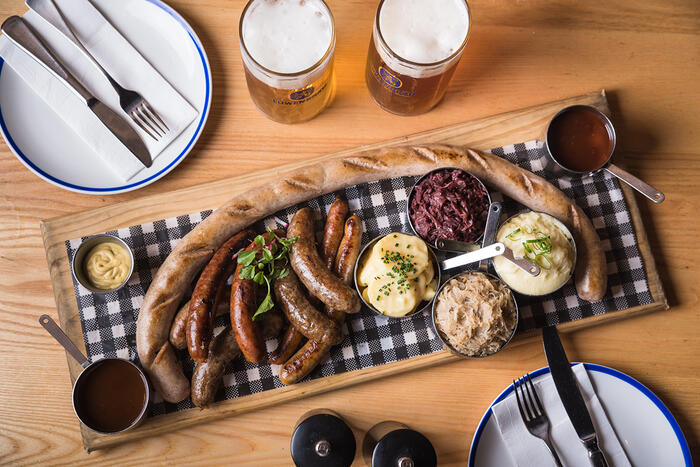 A month-long festival dedicated to sausages has landed.