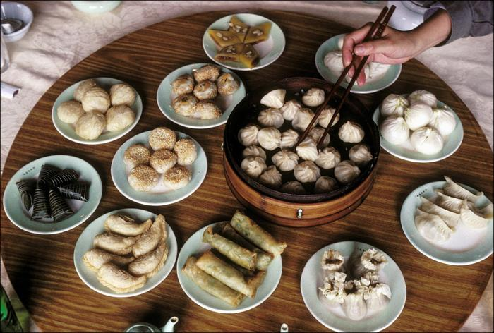 Yum cha dishes often come in serves of three – so keep that in mind when inviting people to join you.