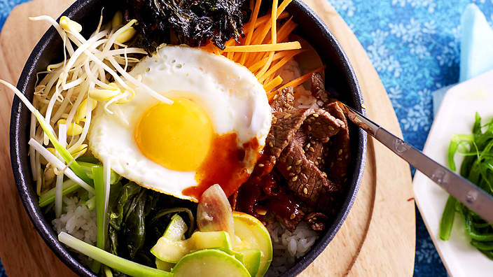 About korean food sbs food mixed rice bibimbap forumfinder Choice Image