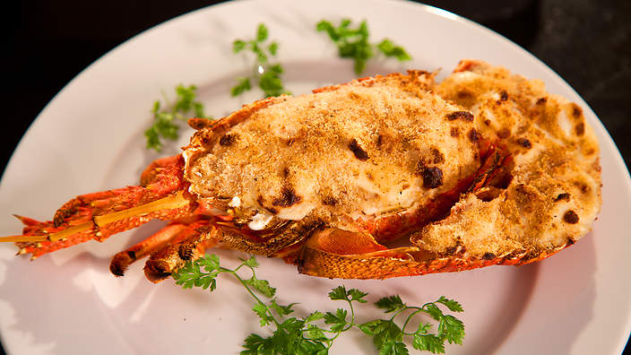 Crayfish Gratin Langouste Gratin 233 E Recipe Sbs Food