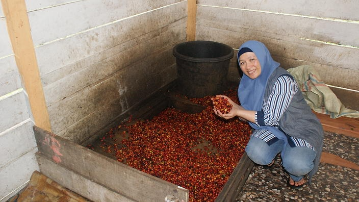 Rizkhani Ani, Chairwoman of Koperasi Kopi Wanita Gayo: Women and coffee