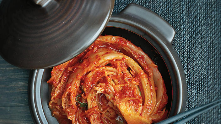 Korean kimchi is one of many traditional fermented foods.