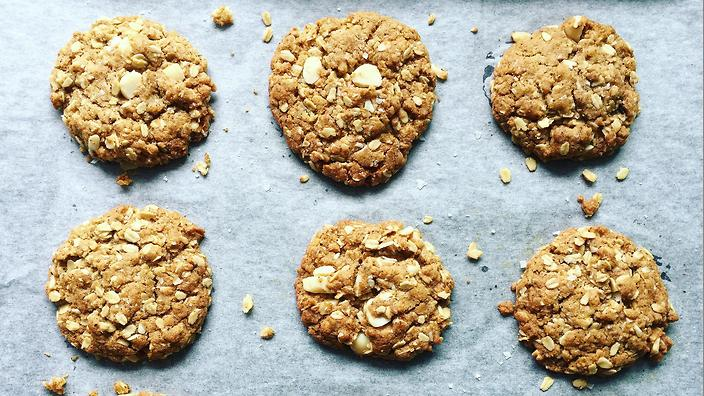 ANZAC Wattleseed and Macadamia Biscuts