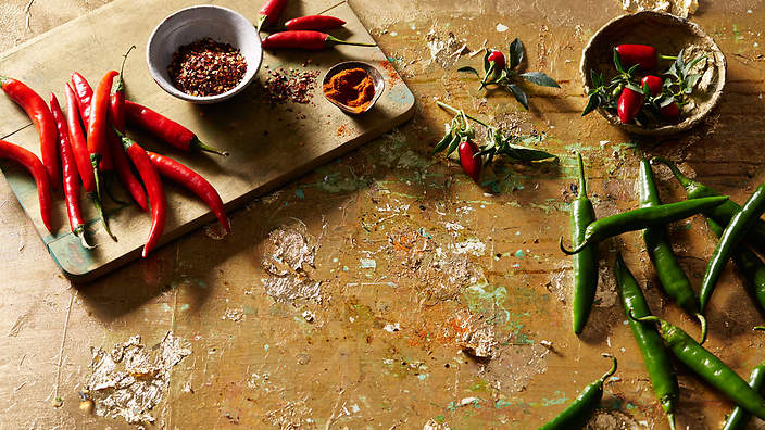 how to cook with chillies