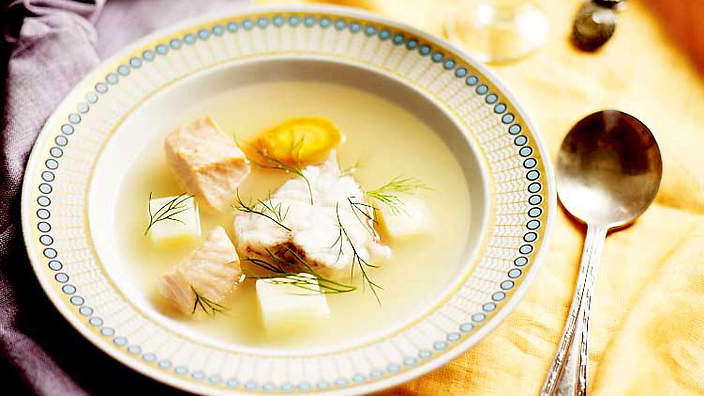 Russian fish soup (ukha)