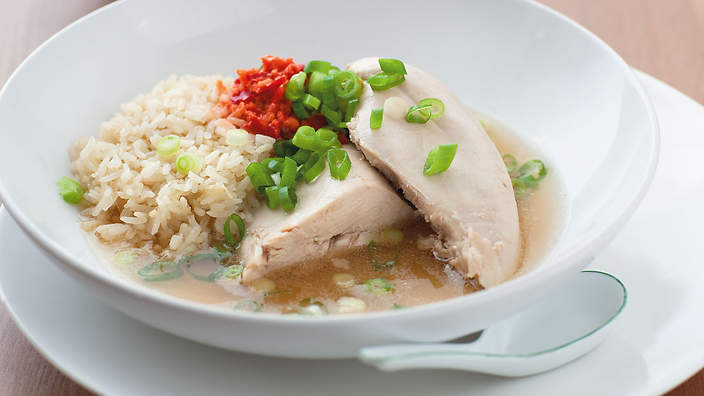 Hainanese Chicken Recipe Sbs Food