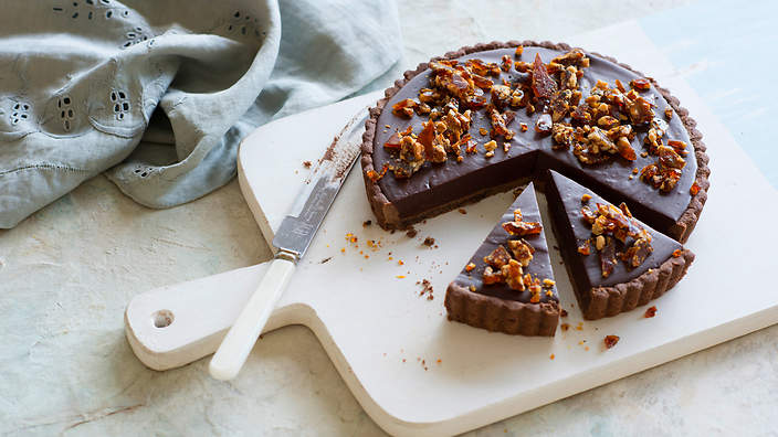 Salted Chocolate Pears Recipes — Dishmaps