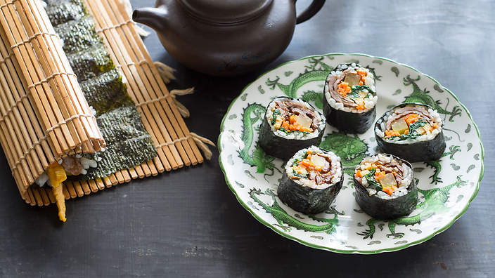 Kimbop (Korean Sushi) Recipe - Allrecipes.com