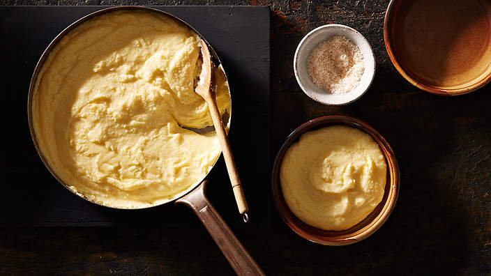 Soft Polenta Recipe Sbs Food