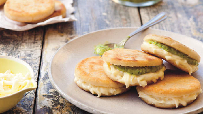 Grilled Arepas With Farmer's Cheese (or Queso Blanco) Recipes ...