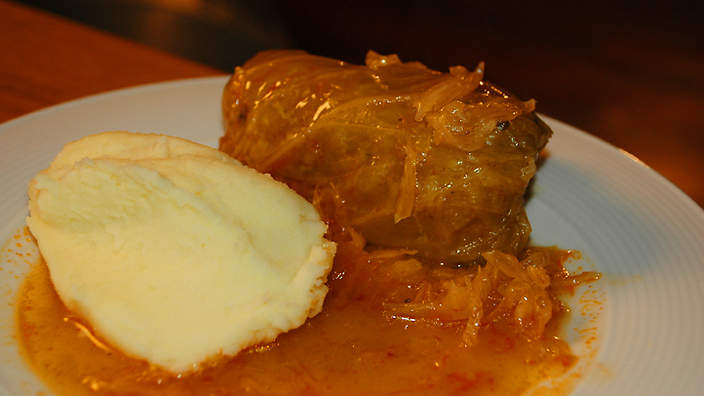Cabbage rolls (sarma) recipe : SBS Food