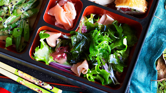 Non-Western diets - like the Japanese diet – can be higher in fibre intake.