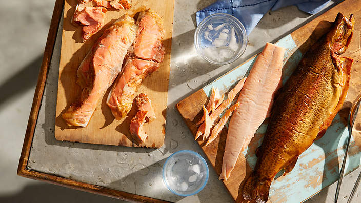 10 ways with smoked trout