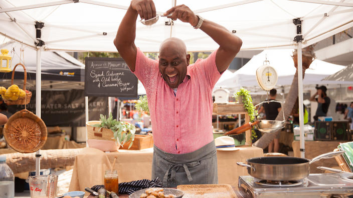 Ainsley cooking in Woolongong NSW